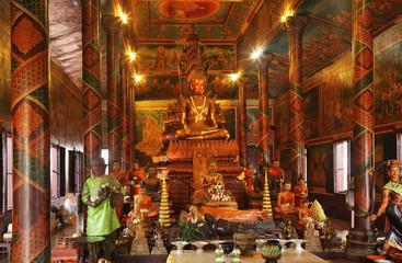 Wat Phnom in Phnom Penh. Cambodia