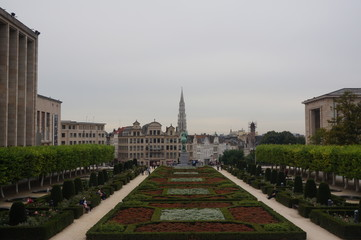 Foto op Canvas Brussel City Park
