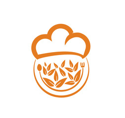 restaurant nature vector logo
