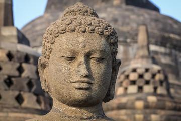 Buddha in the Borobudur