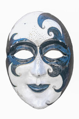 Carnival Mask isolated with white background