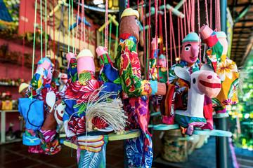 Mamulengo puppet in Olinda, Penambuco, Brazilian Folklore