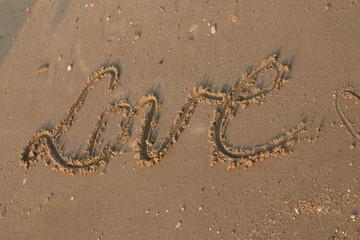 writes on sand