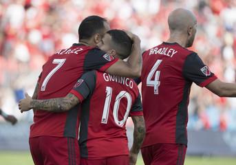 MLS: New York City FC at Toronto FC