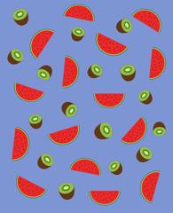 kiwi watermelon