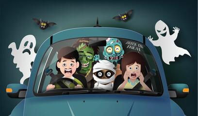 Happy Halloween party,