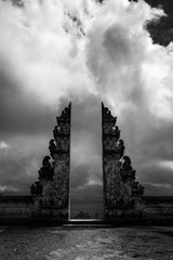 Ancient gates, Pura Lempuyang temple near Agung volcano,Bali, Indonesia