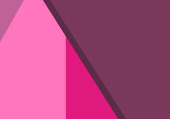 pink design background. vector flat isolated illustration