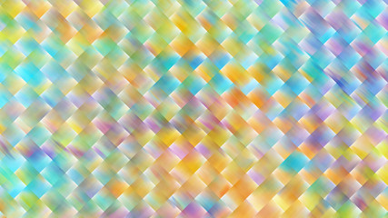 Abstract blurred geometric texture. Fractal background. Digital art. 3D rendering.