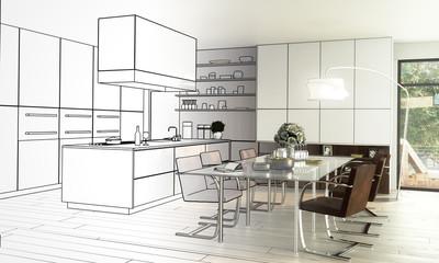 Lofted Kitchen (draft)
