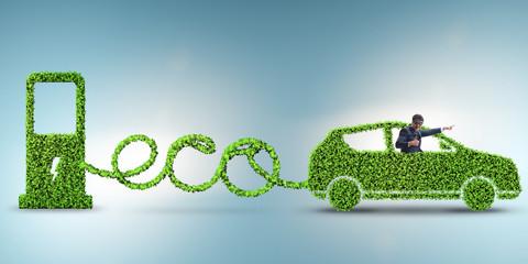 Eco friendly car powered by alternative energy