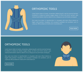 Orthopedic Tools Fixing Corsets Collection Banner