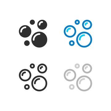 Soap bubble icons