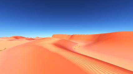 Sandwüste mit Dünen
