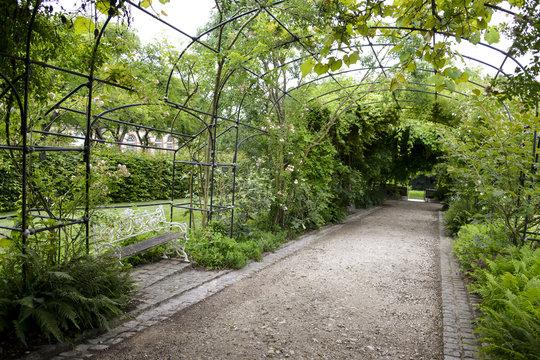 Jardins, Château de Breteuil, 78460 ,Choisel , vallée de Chevreuse, Yvelines, région Île de France