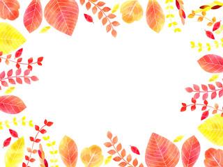 秋の紅葉の背景