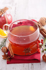 winter tea and spice