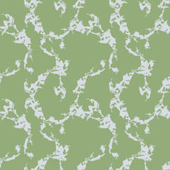 UFO military camouflage seamless pattern in green and grey colors