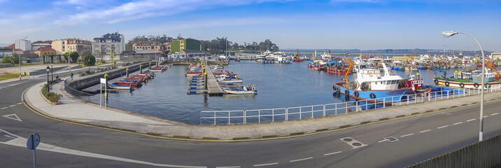 Vilanova de Arousa fishing port