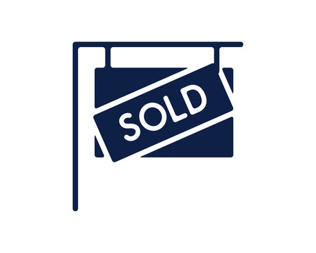 sold home glyph icon , designed for web and app