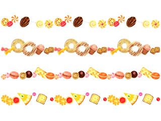 写真の検索 お菓子のイラスト
