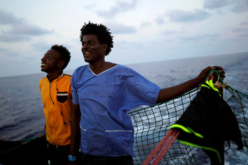 A Picture and its Story: Spanish rescue boat finds life and death off Libya coast