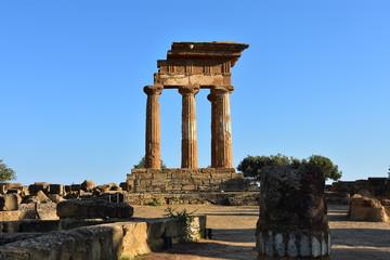 La vallée des temples à Agrigente en Sicile