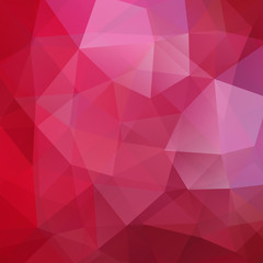Abstract geometric style red background. Red business background Vector illustration
