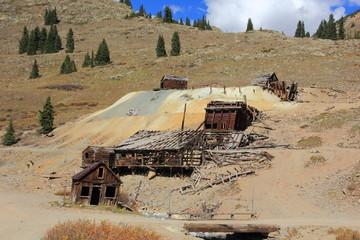 Ghost Town Animas Forks Colorado USA