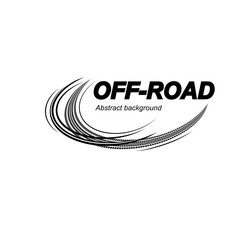 Tire track logo
