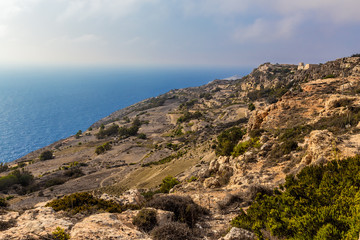 Rdum Depiro, Malta. Picturesque coastline