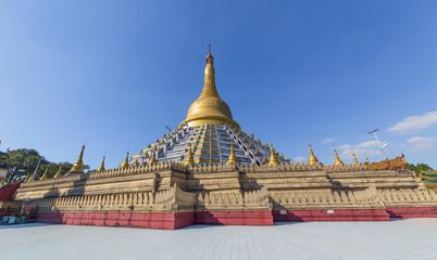 Mahazedi pagoda at Bago, Myanmar