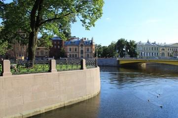 Saint-Petersburg, New Holland island