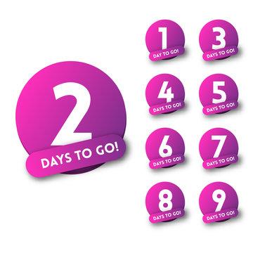 Number of days left to go ultraviolet