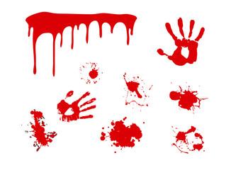 splash blood vector
