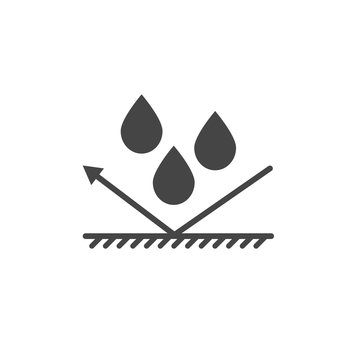 waterproof  protection icon