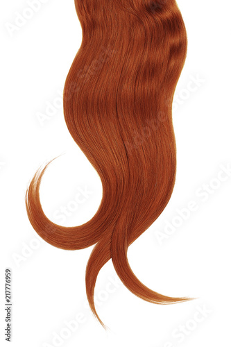 Henna Hair On White Background Stock Photo And Royalty Free Images