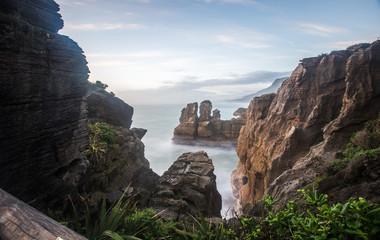 Cliffs at Punakaiki New Zealand