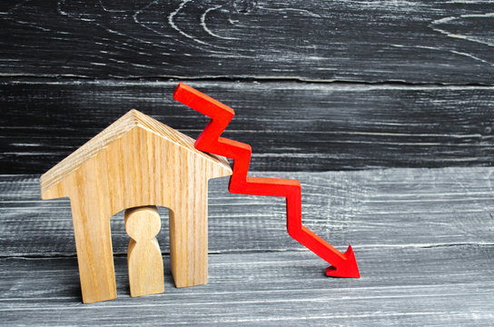 a decline in property prices. population decline. falling interest on the mortgage. reduction in demand for the purchase of housing. low energy efficiency, low prices for public utilities. arrow down.