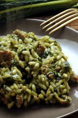 Risotto al cavolo nero e salsiccia Cucina italiana