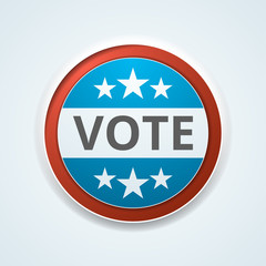 Vote button illustration