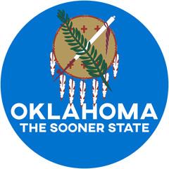 oklahoma: the sooner state | digital badge