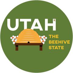 utah: the beehive state | digital badge