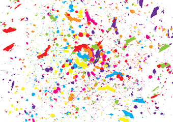 abstract splatter watercolor background. illustration vector design