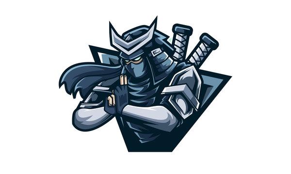 Ninja Logo,  feel free to adding you own logo text to the logo