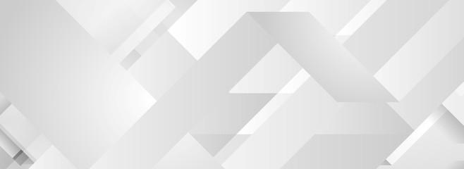 Grey tech minimal geometric background banner