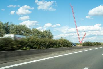 An industry crane