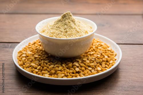 Besan, Gram or chickpea flour or powder is a pulse flour