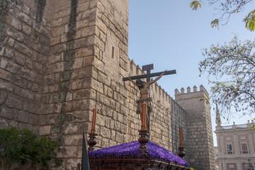 imágenes de la semana santa de Sevilla, hermandad de los estudiantes