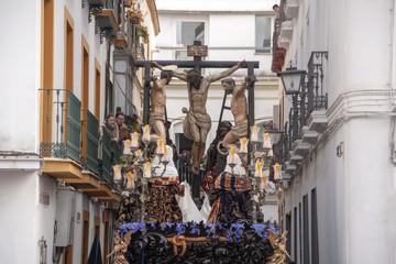 procesión de la hermandad de la carretería, semana santa de Sevilla